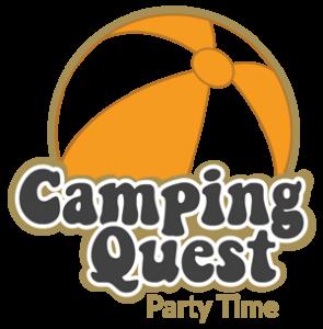 Logo Camping Quest Party Time   Escape Caravan